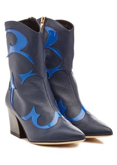 Tibi Felix Leather Boots