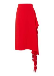 Tibi Fringe Midi Skirt