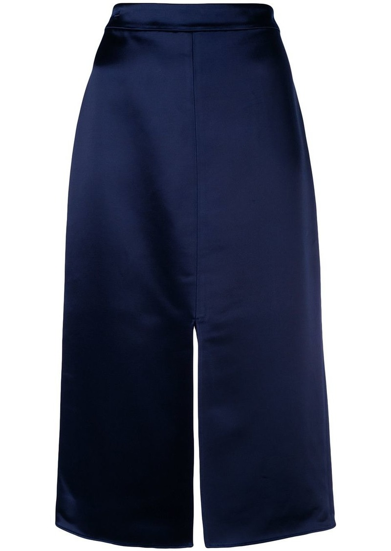 Tibi front slit pencil skirt
