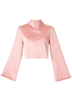 Tibi funnel neck blouse