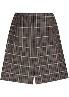 Tibi Gabe checked shorts