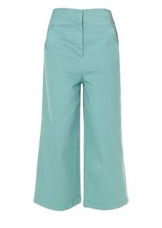 Tibi Garment Dyed Demi-Crop Jeans