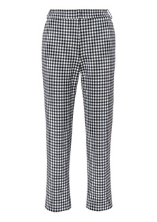 Tibi Gingham Beatle Trousers