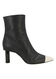 Tibi Grant Leather Booties