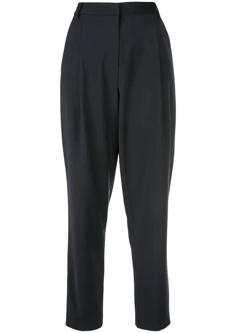 Tibi high-rise straight trousers