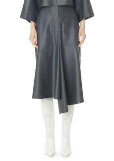 Tibi High Waisted Midi Skirt