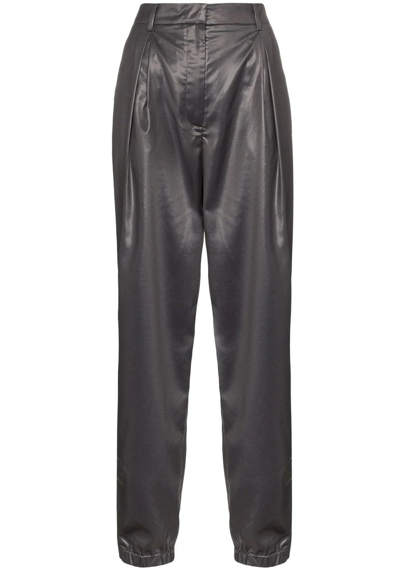 Tibi high waisted tapered trousers