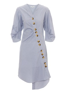 Tibi Jones Asymmetrical Shirtdress