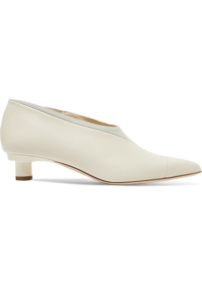 Tibi Jude Leather Pumps