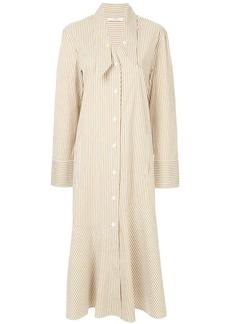 Tibi Kaia flared shirt dress