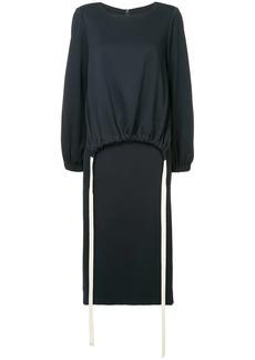 Tibi layered jersey dress