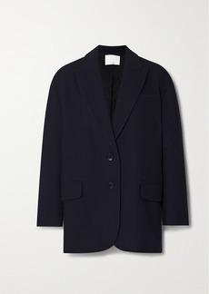 Tibi Liam Oversized Wool-blend Felt Blazer
