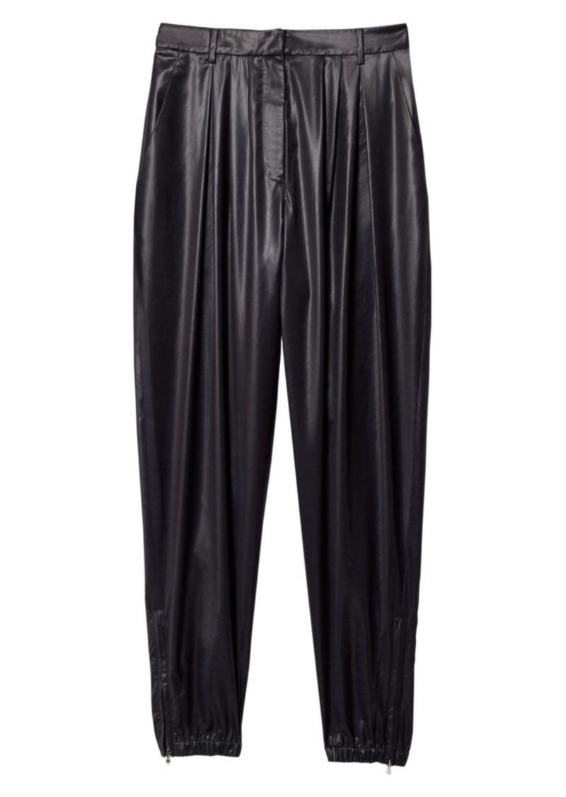 Tibi Liquid Drape Pleated Pant