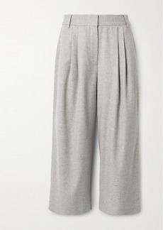 Tibi Lola Pleated Tweed Culottes