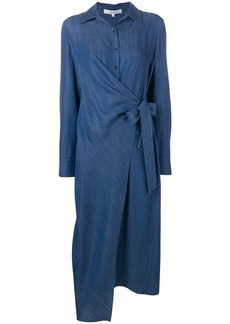 Tibi long denim dress