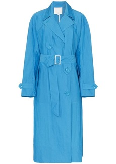 Tibi long-sleeved belted trench coat