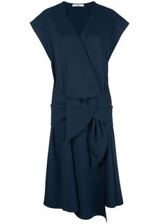 Tibi loose-fit wrap dress