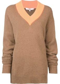 On Sale Today Tibi Tibi Cozette Easy Mock Neck Pullover