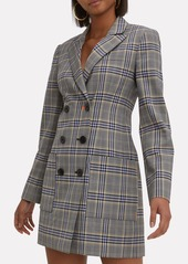Tibi Lucas Double-Breasted Blazer Dress
