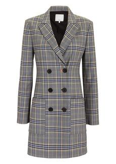 Tibi Lucas Double-Breasted Blazer Dress