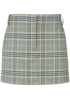 Tibi Lucas Suiting mini skirt