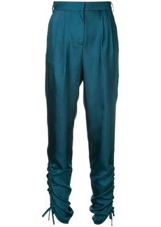 Tibi mendini twill shirred pants