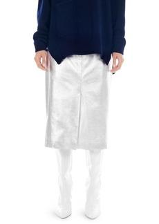 Tibi Metallic Trouser Skirt