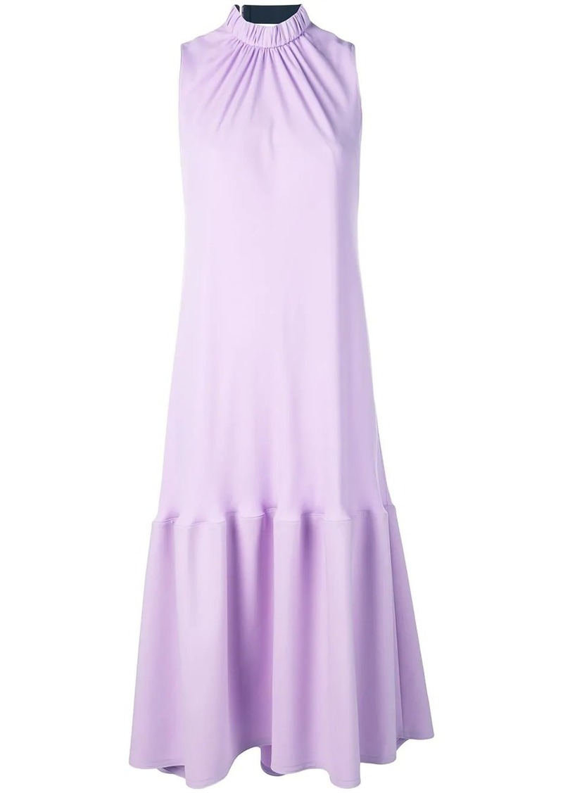 Tibi modern drape sculpted dress