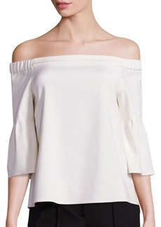 Tibi Off-The-Shoulder Blouse