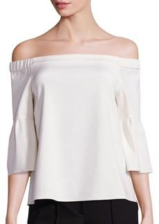 Tibi Off-The-Shoulder Blouse