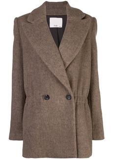 Tibi oversized double breasted jacket