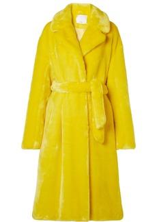 Tibi Oversized Faux Fur Coat