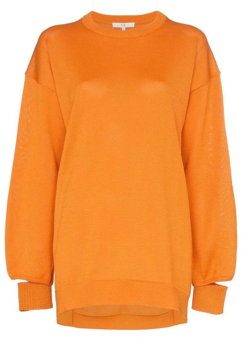 Tibi oversized knitted jumper
