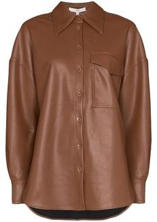 Tibi oversized long-sleeve shirt