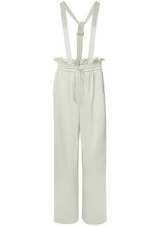 Tibi Paperbag dungaree trousers