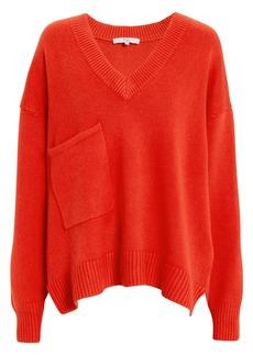 Tibi Patch Pocket Pullover