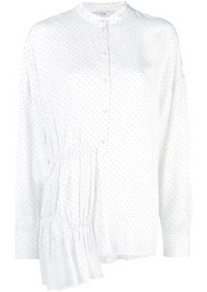 Tibi pindot longline shirt