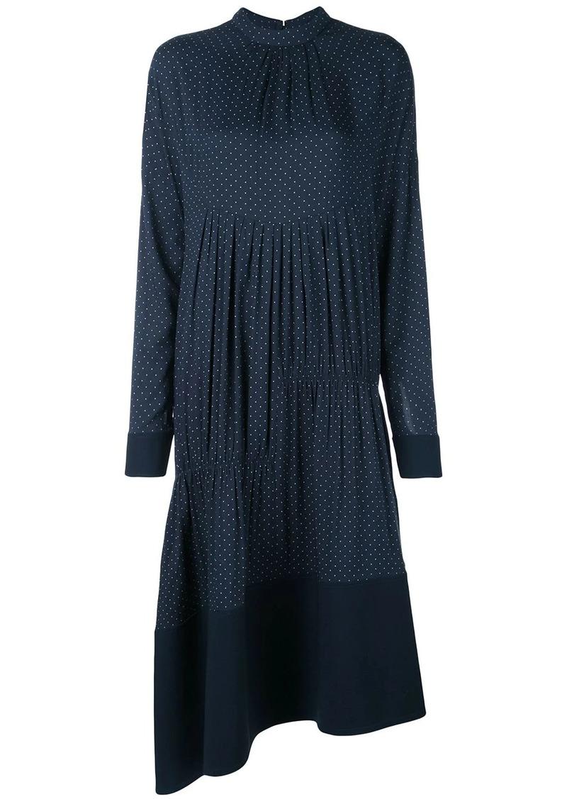 Tibi pindot shirred dress