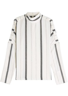Tibi Printed Blouse with Cotton