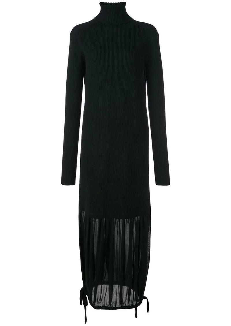 Tibi ribbed knit maxi dress