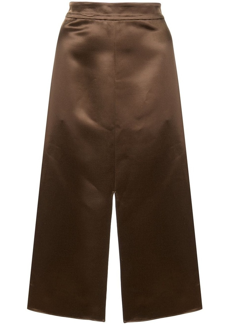 Tibi satin pencil skirt
