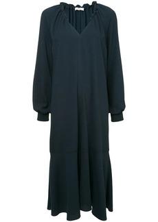 Tibi Savanna split neck dress