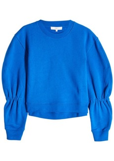 Tibi Sculpted Cotton Sweatshirt