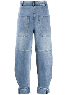 Tibi sculpted denim pants