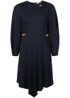 Tibi sculpted sleeve short dress