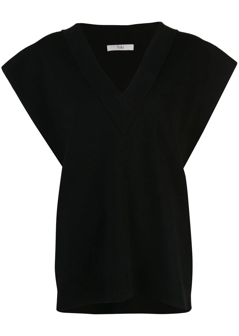 Tibi sculpted two-way sweater vest