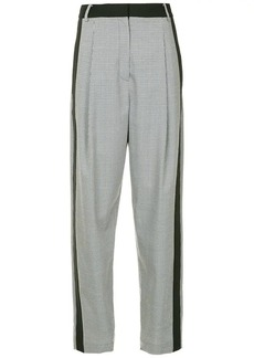 Tibi side stripe trousers