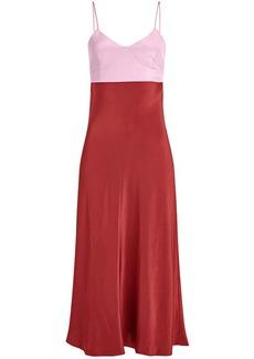Tibi Silk Gown