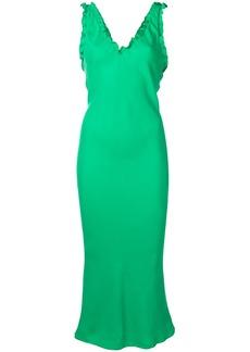 Tibi sleeveless ruffle dress