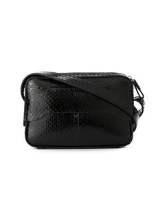 Tibi snakeskin crossbody bag